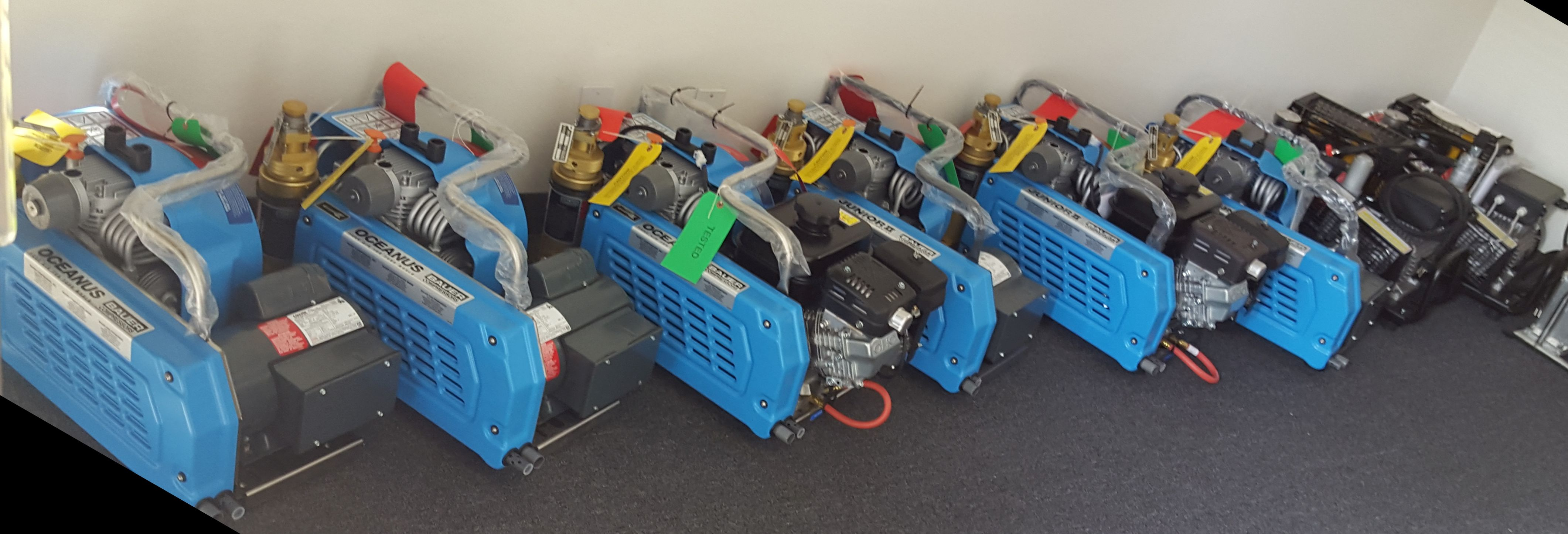 Bauer SCUBA Dive Compressors Available in Gas or Electric