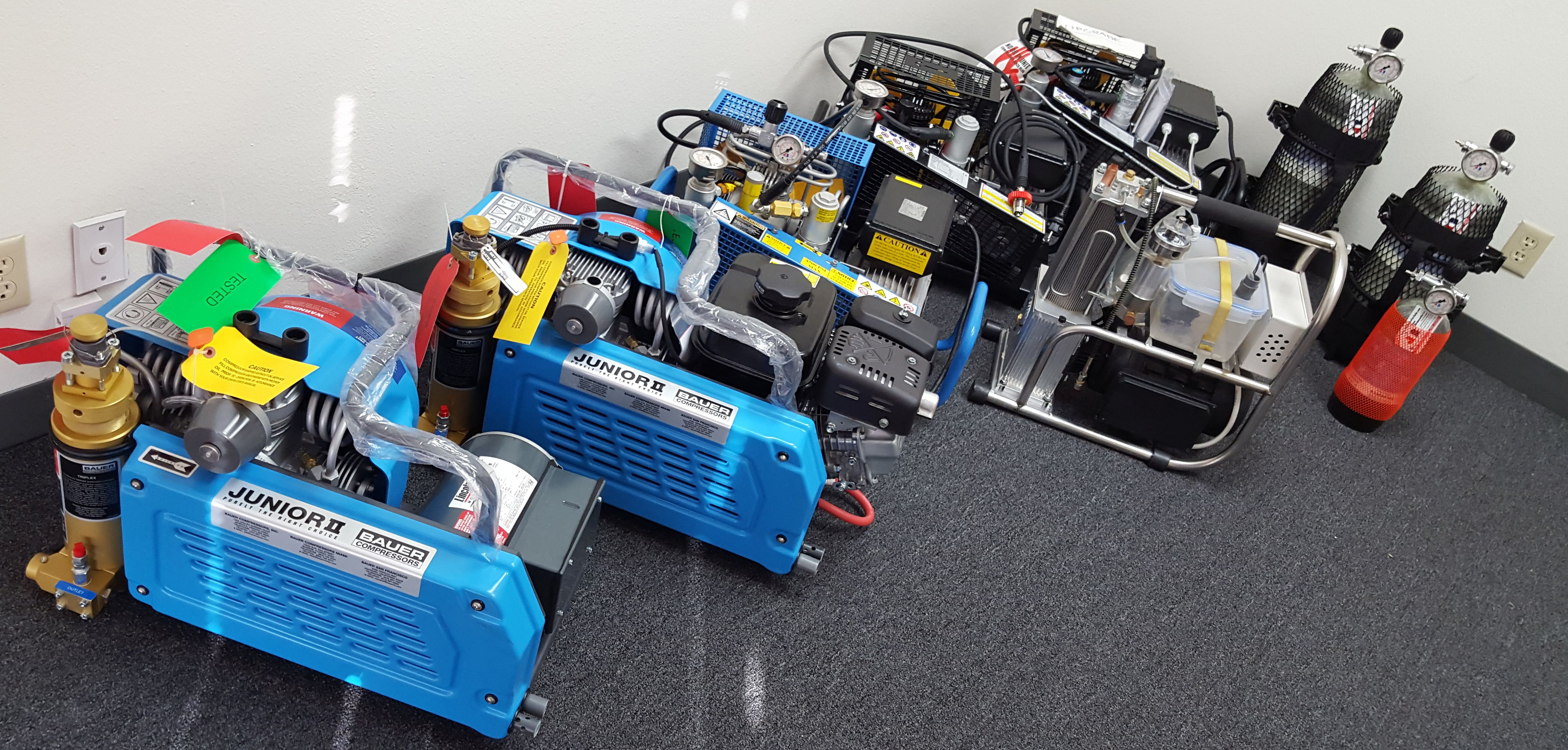 oltri, Bauer Daystate Omega Shoebox M Compressors for PCP Airguns