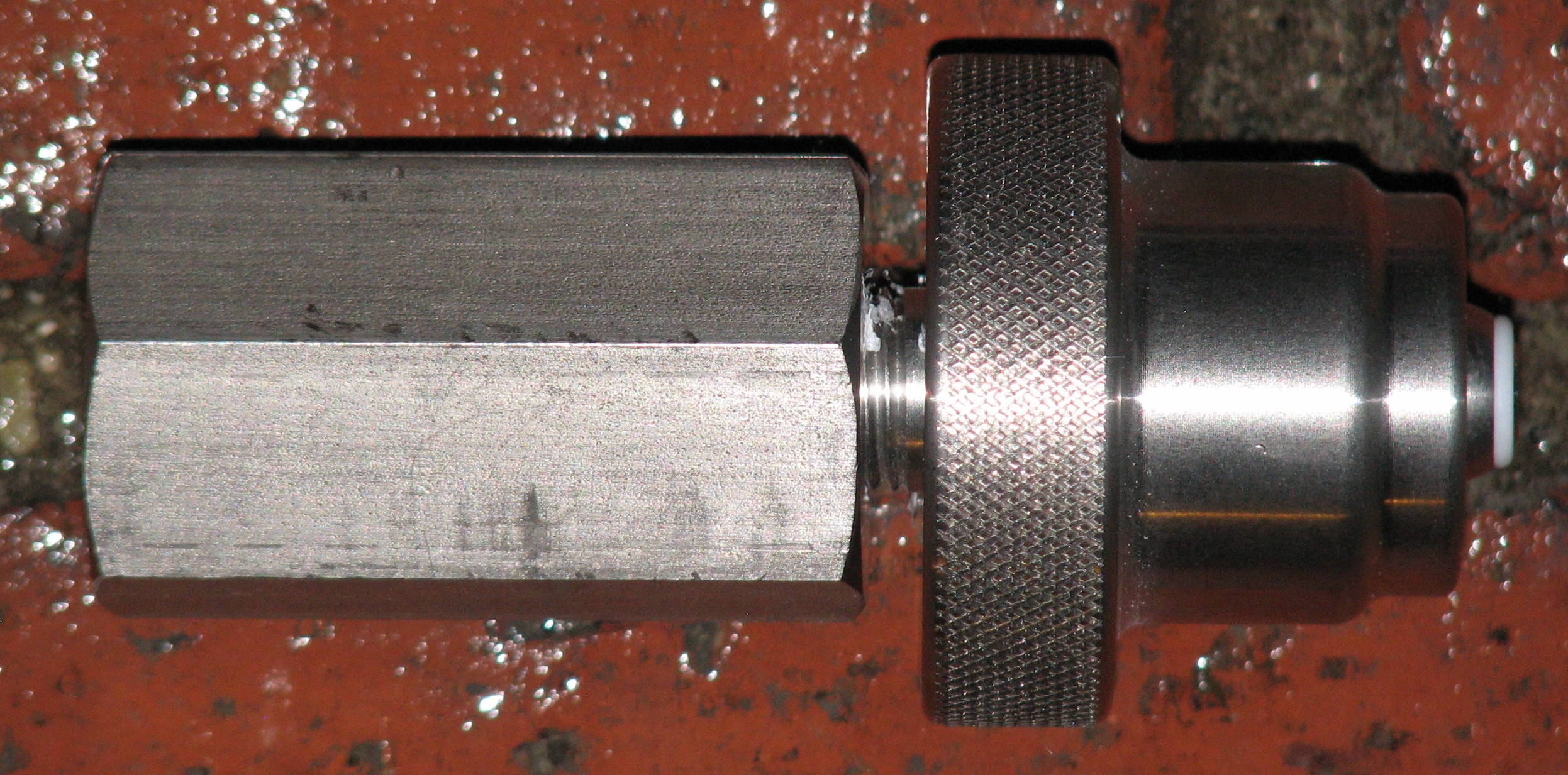 Microbore hose with female quick disconnects each end for