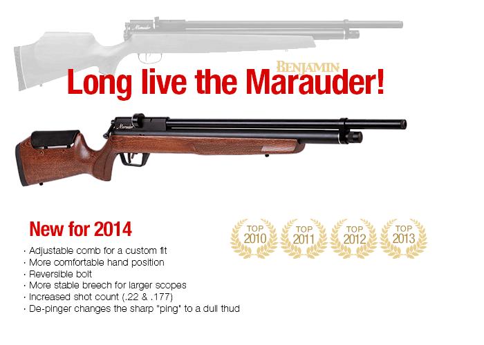 Marauder PCP Pre-Charged-Pneumati Air Gun & Carbon Fiber Tank